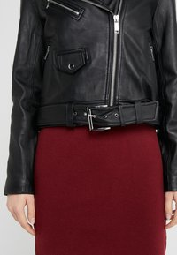 MICHAEL Michael Kors - Leather jacket - black - 3