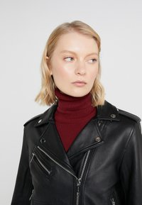 MICHAEL Michael Kors - Leather jacket - black - 4
