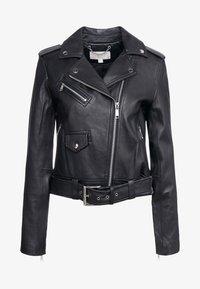 MICHAEL Michael Kors - Leather jacket - black - 6