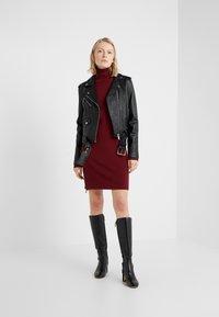 MICHAEL Michael Kors - Leather jacket - black - 1