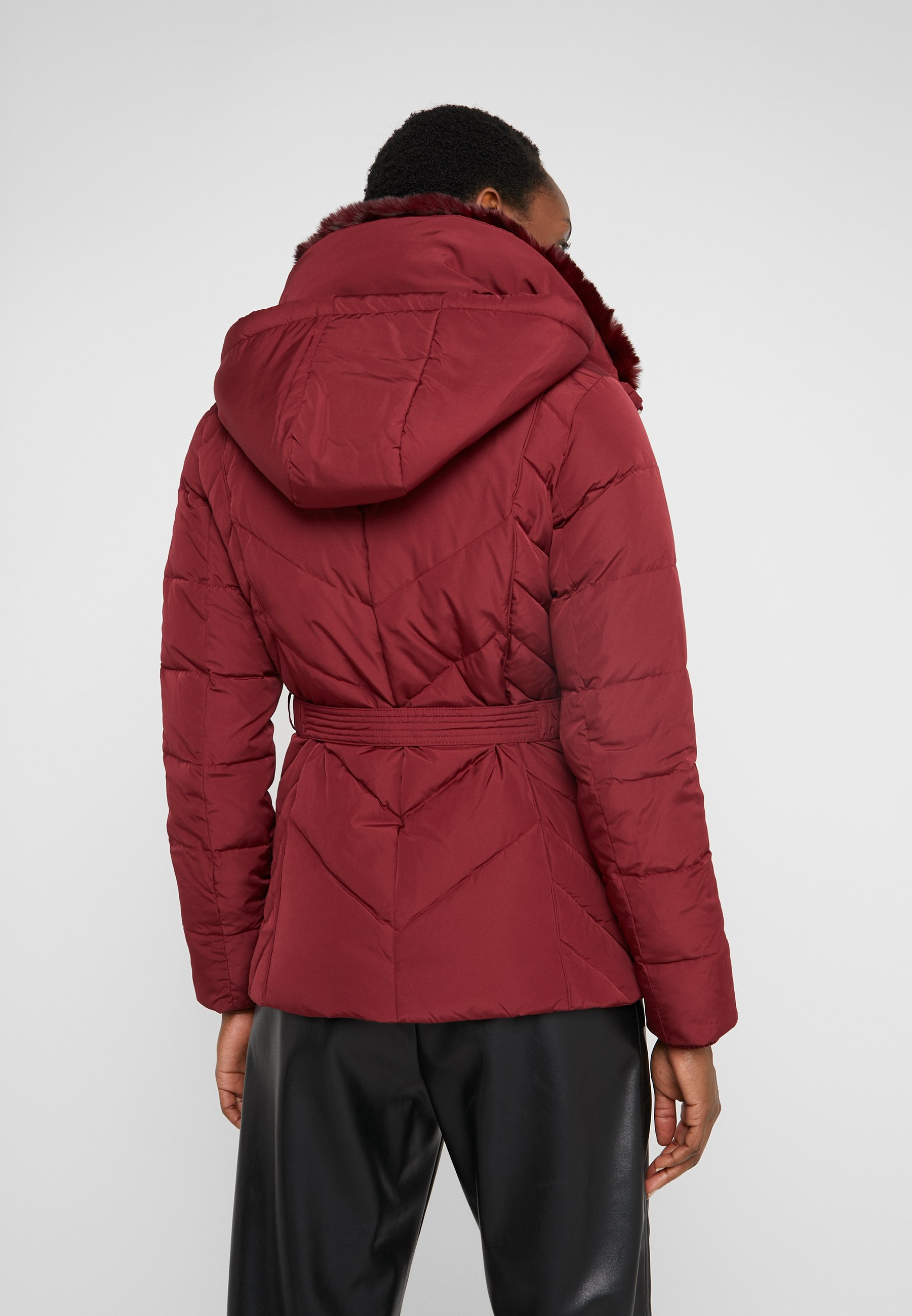 MICHAEL Michael Kors FITTED HEAVY PUFFER - Kurtka puchowa - dark brandy