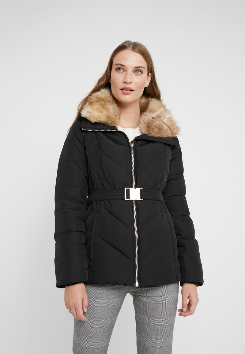 MICHAEL Michael Kors - FITTED HEAVY PUFFER - Daunenjacke - black
