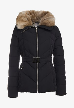 FITTED PUFFER - Daunenjacke - black