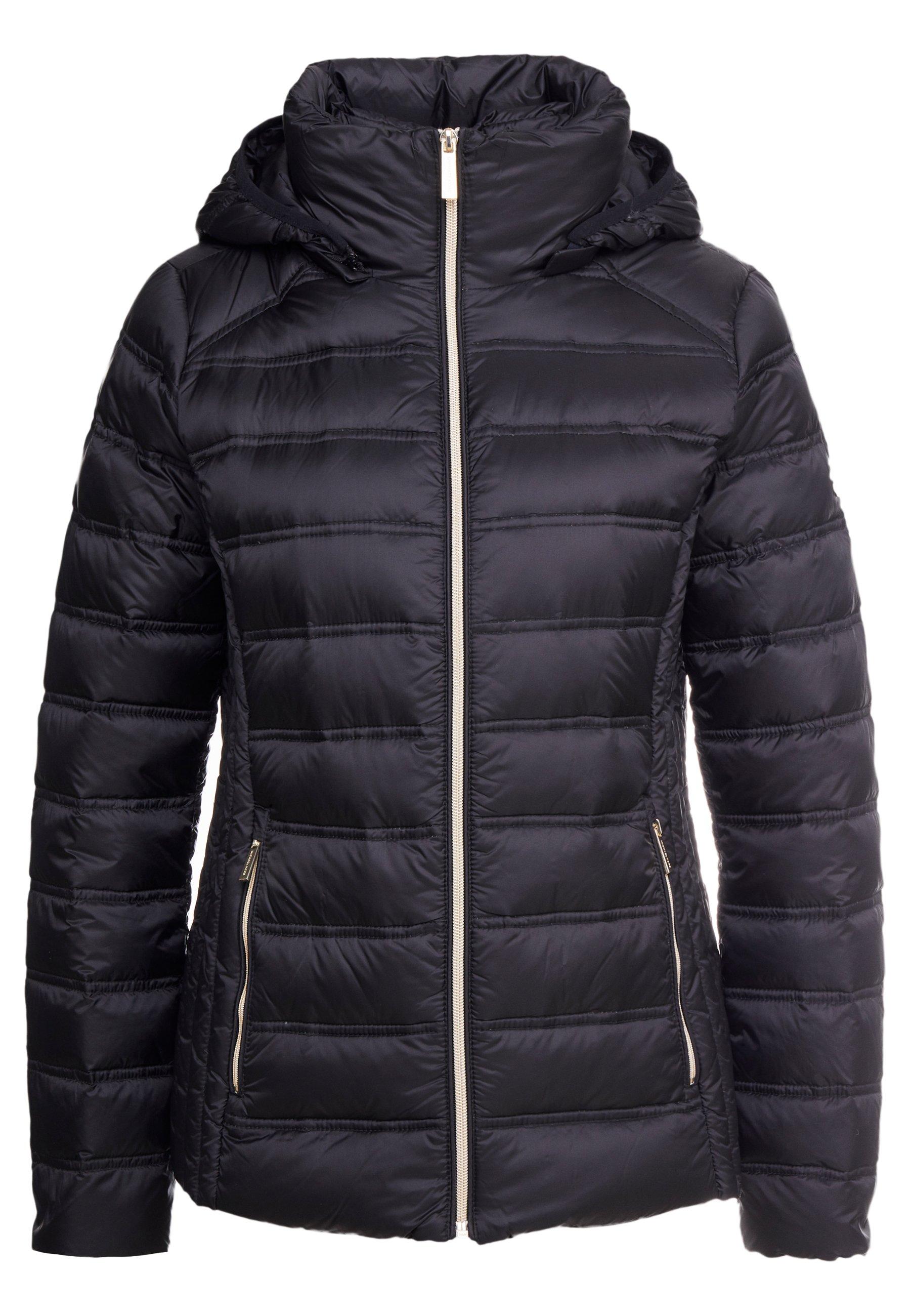 Michael Kors Short Packable Puffer With Hood - Dunjakke Dark Navy