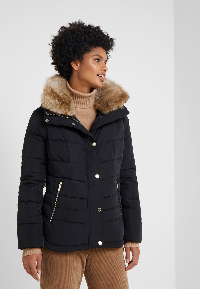 MICHAEL Michael Kors - SHORT PUFFER - Down jacket - black