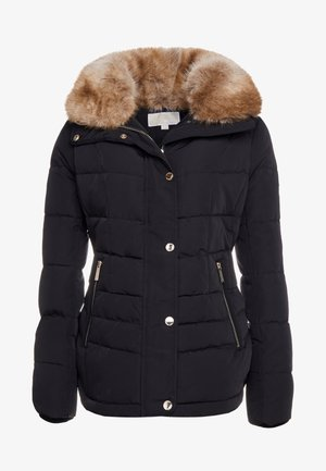 SHORT PUFFER - Down jacket - black