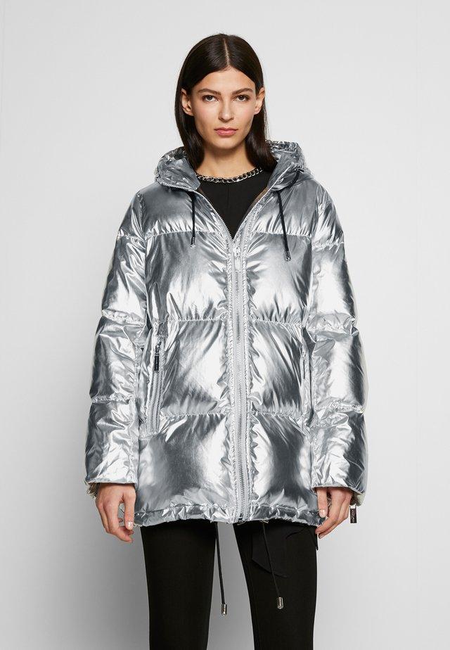 PUFFER COAT - Piumino - silver