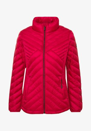 FITTED PACKABLE PUFFER - Dunjakker - red