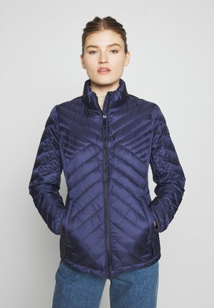 FITTED PACKABLE PUFFER - Dunjakke - true navy