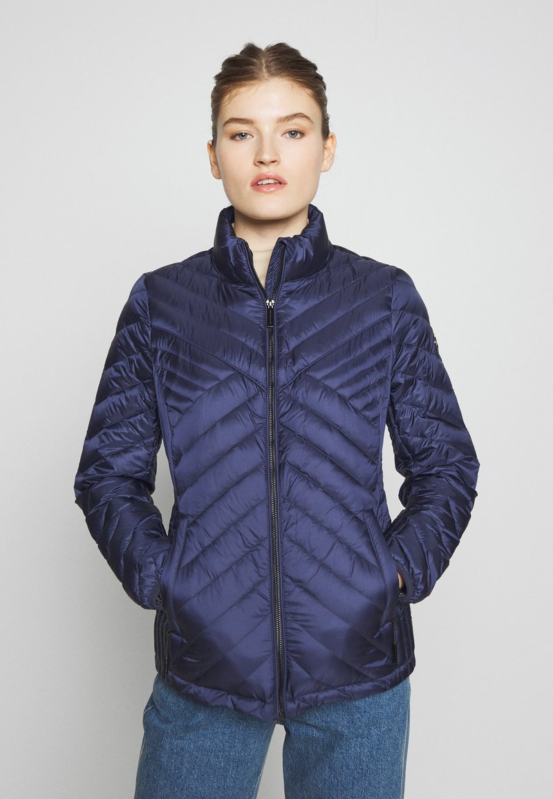 MICHAEL Michael Kors - FITTED PACKABLE PUFFER - Kurtka puchowa - true navy