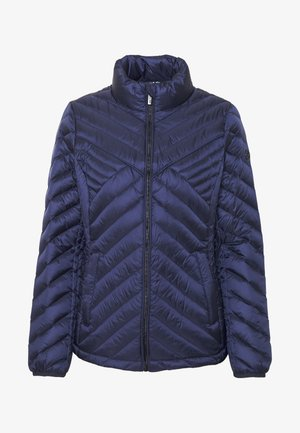 FITTED PACKABLE PUFFER - Bunda z prachového peří - true navy