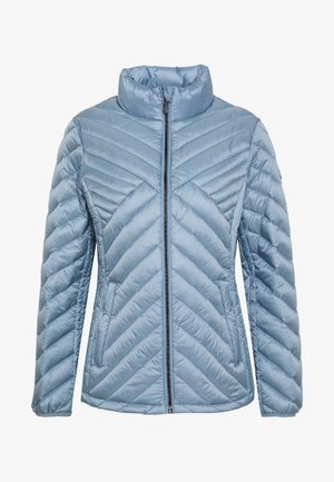 FITTED PACKABLE PUFFER - Bunda z prachového peří - chambray