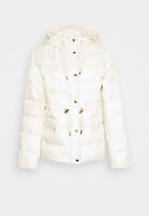 LOGO PUFFER - Summer jacket - bone