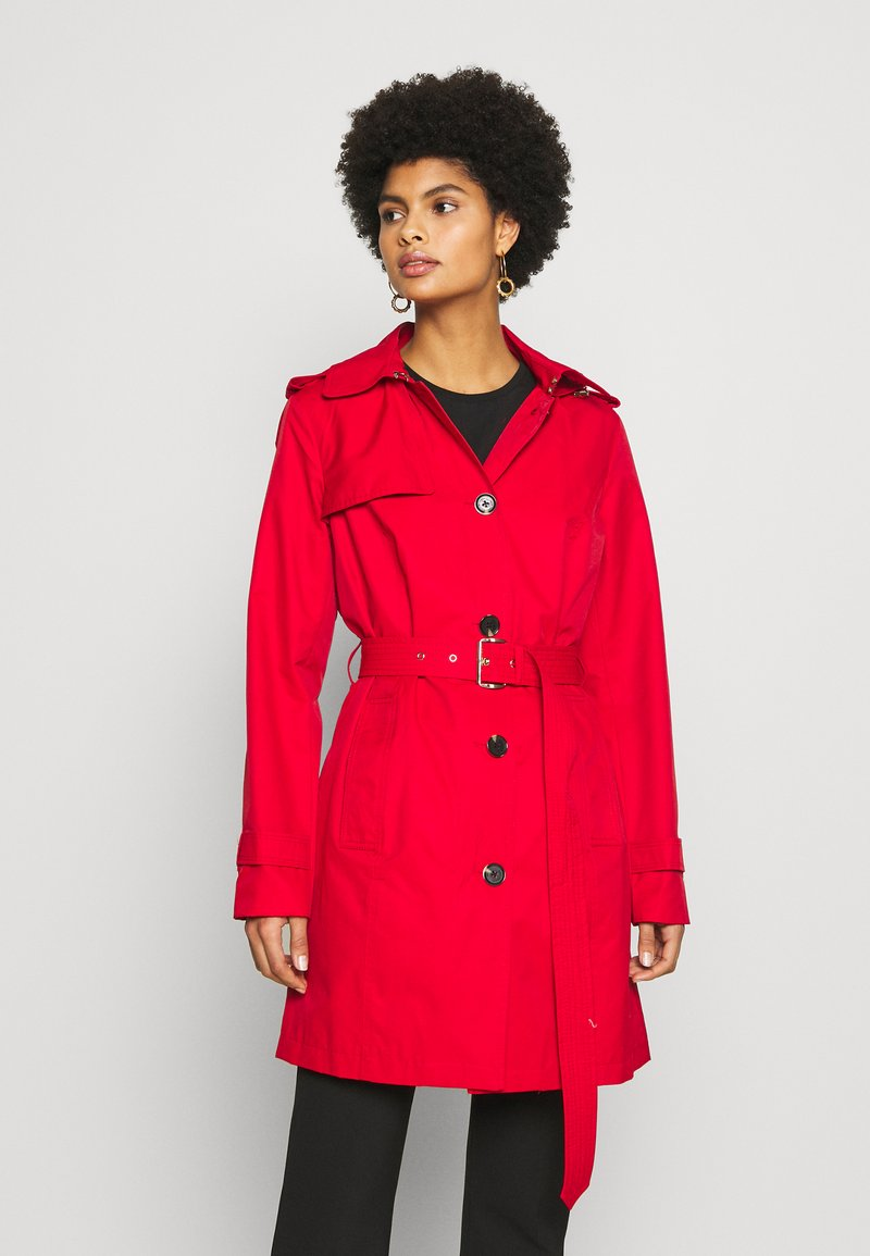 MICHAEL Michael Kors - NEW WITH HOOD  - Trenchcoats - red