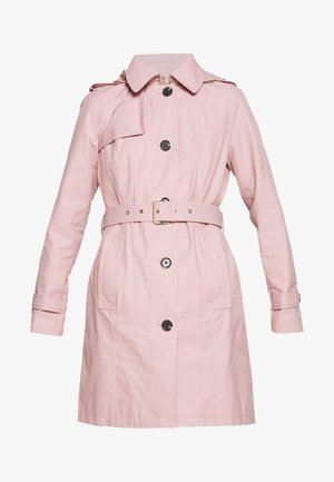NEW WITH HOOD  - Trench - blush