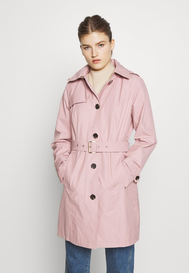 NEW WITH HOOD  - Trenchcoats - blush