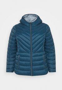 MICHAEL Michael Kors - ZIP FRONT PACKABLE WHOOD - Light jacket - blue - 0