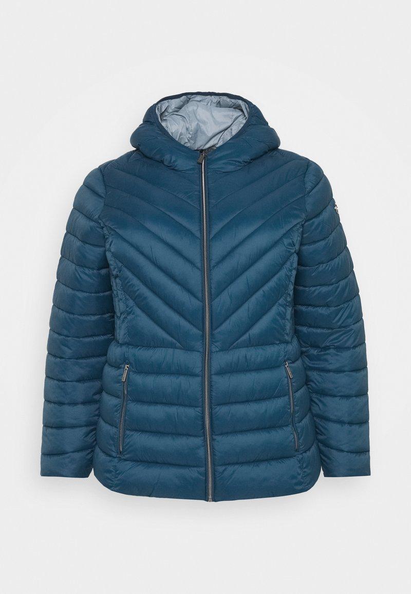 MICHAEL Michael Kors - ZIP FRONT PACKABLE WHOOD - Light jacket - blue