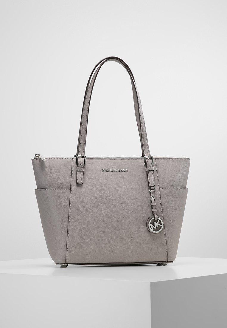 MICHAEL Michael Kors - JET SET - Shopping Bag - pearl grey