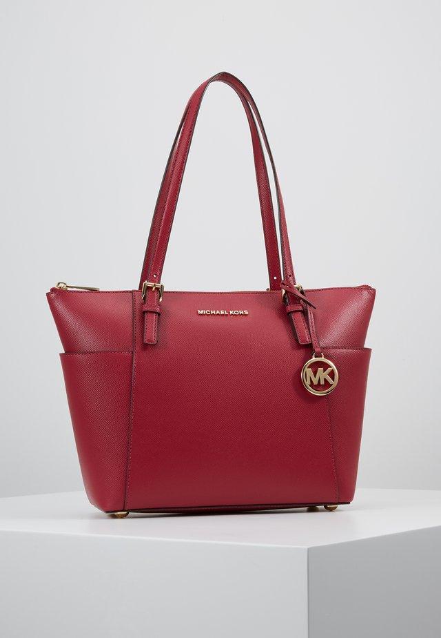 Shopping bag - berry