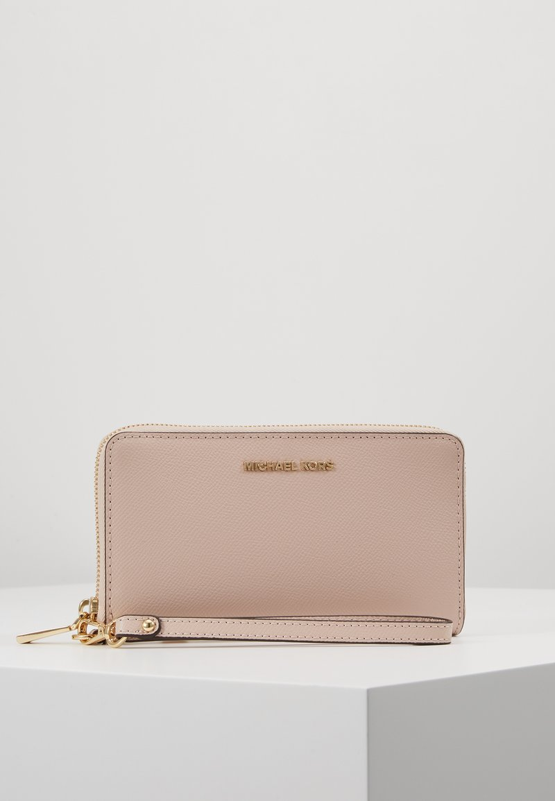 MICHAEL Michael Kors - JET SET TRAVEL FLAT CASE - Geldbörse - soft pink