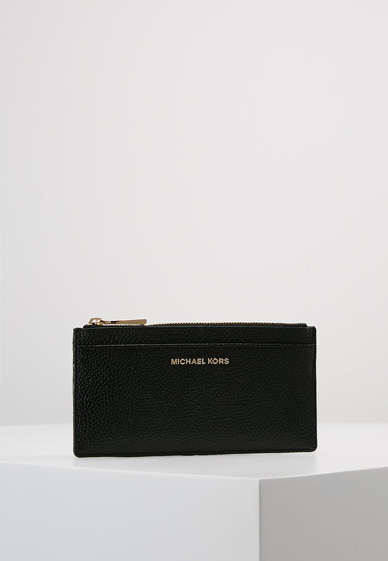 MICHAEL Michael Kors - MONEY PIECES SLIM CARD CASE - Punge - black