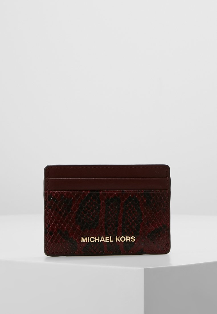 MICHAEL Michael Kors - MONEY PIECES CARD HOLDER - Portefeuille - maroon