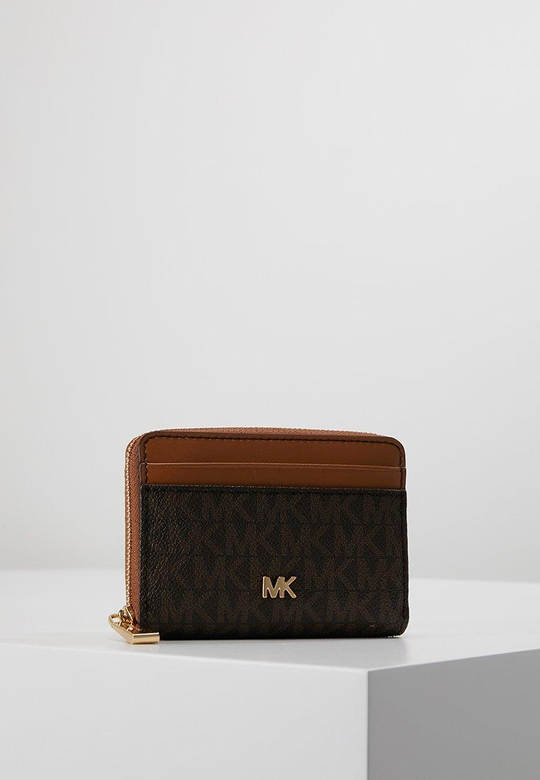 MICHAEL Michael Kors - MONEY PIECES COIN CARD CASE - Portemonnee - brown/acorn