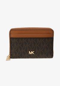 MICHAEL Michael Kors - MONEY PIECES COIN CARD CASE - Wallet - brown/acorn - 1