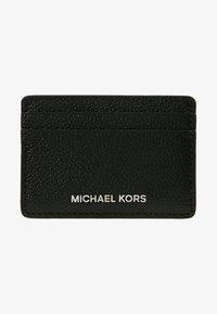 MICHAEL Michael Kors - MONEY PIECES CARD HOLDER - Lompakko - black - 1