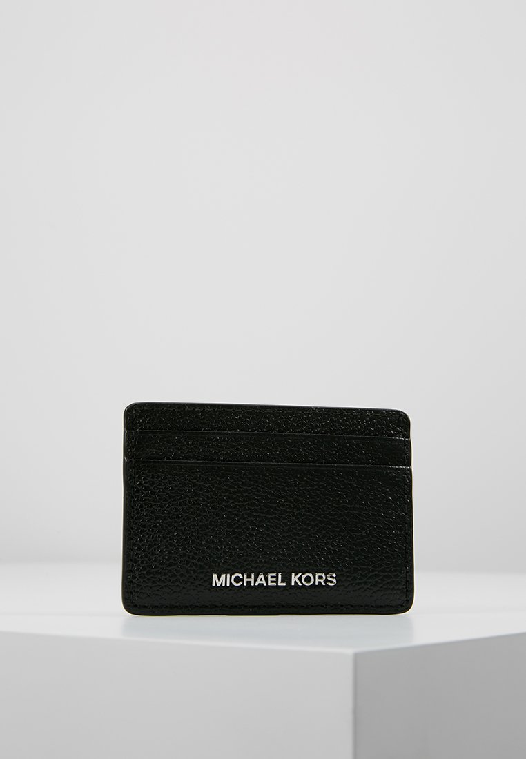 MICHAEL Michael Kors - MONEY PIECES CARD HOLDER - Geldbörse - black