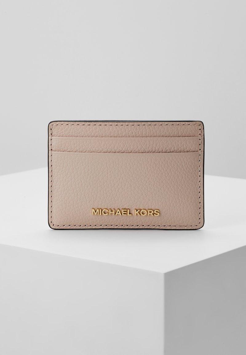 MICHAEL Michael Kors - JET SET CARD HOLDER MERCER - Lompakko - soft pink