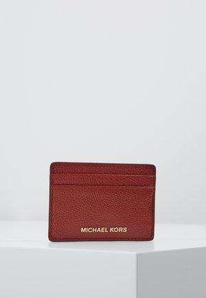 JET SET CARD HOLDER MERCER - Plånbok - brandy