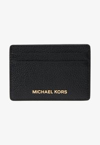 MICHAEL Michael Kors - JET SET CARD HOLDER MERCER - Portemonnee - black