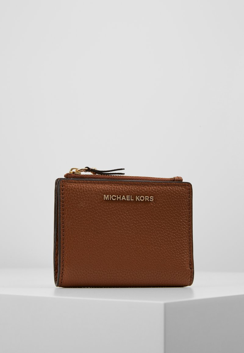 MICHAEL Michael Kors - JET SET SNAP BILLFOLD SMALL - Portemonnee - luggage
