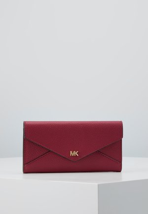 MOTT SLIM TRIFOLD MERCER PEBBLE - Portemonnee - berry