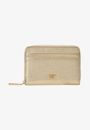 Wallet - pale gold-coloured