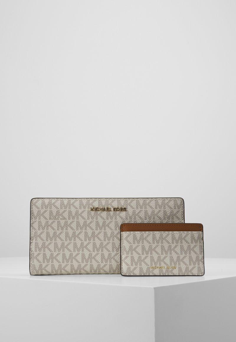 MICHAEL Michael Kors - CARD CARRYALL SET - Peněženka - vanilla