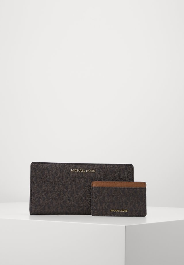 CARD CARRYALL SET - Monedero - brown