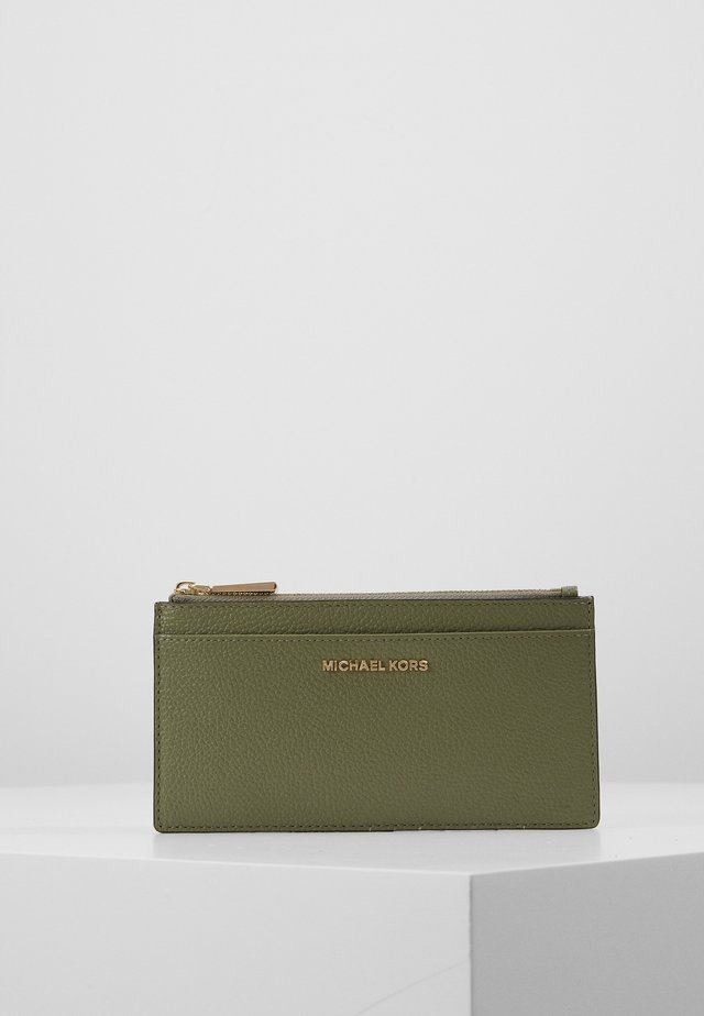 JET SLIM CARD CASE - Portefeuille - army green