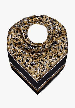 CHAIN SCARF - Foulard - black/gold