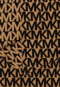 MICHAEL Michael Kors - ALLOVER SCARF - Écharpe - dark camel/ black - 2