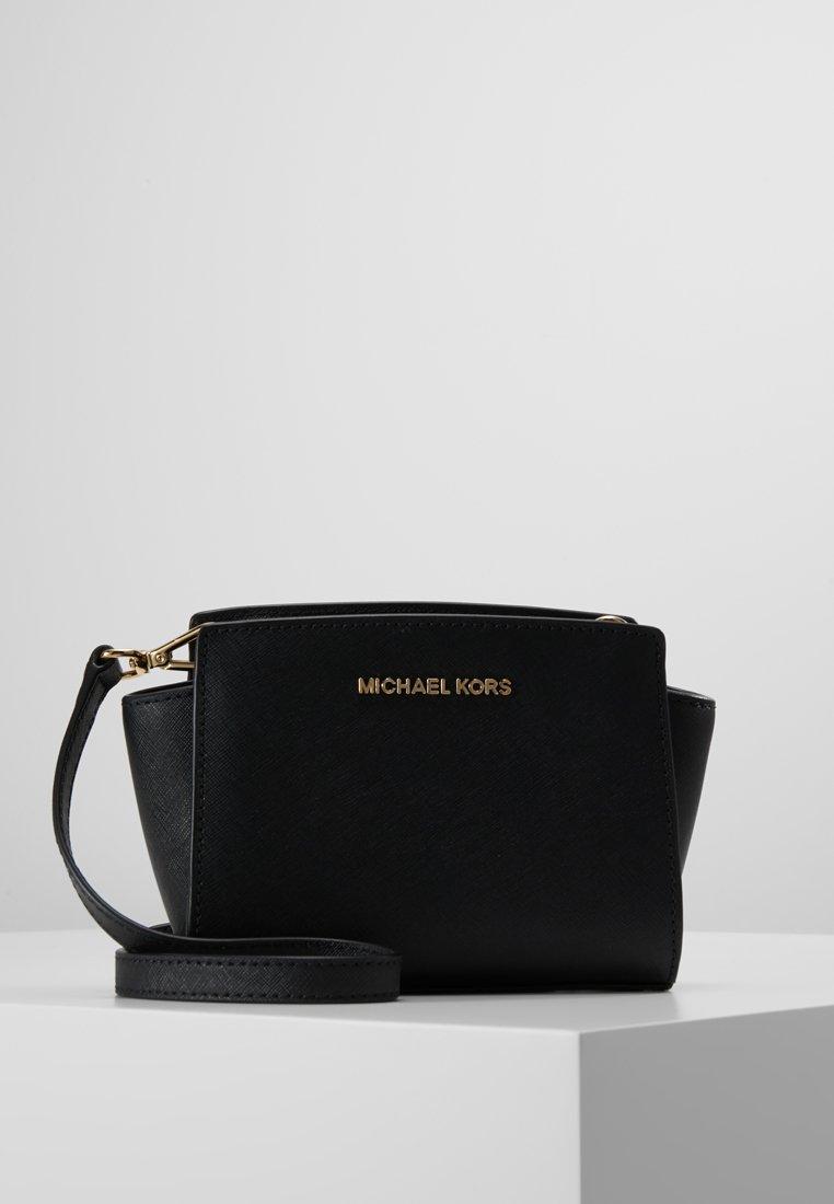 MICHAEL Michael Kors - SELMA MINI MESSENGER - Umhängetasche - black