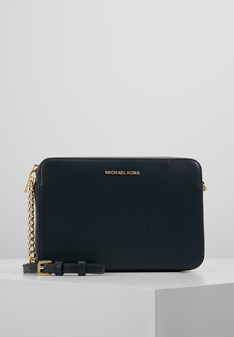 MICHAEL Michael Kors - JET SET TRAVEL CROSSBODY - Skulderveske - admiral