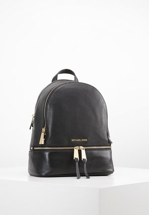 RHEA ZIP BACKPACK SMALL - Reppu - black