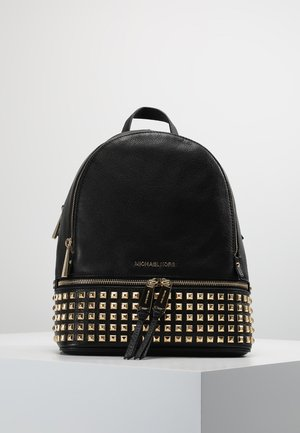 RHEA ZIP STUDDED BACKPACK - Zaino - black