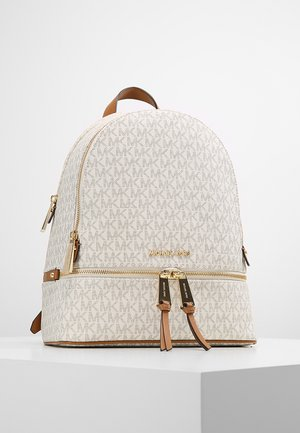 RHEA ZIP BACK PACK - Batoh - vanilla