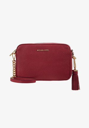 JET SET CAMERA BAG MERCER - Across body bag - berry