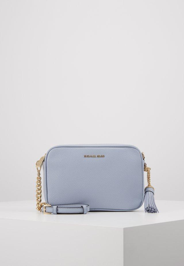 JET CAMERA  SOFT MERCER - Across body bag - pale blue