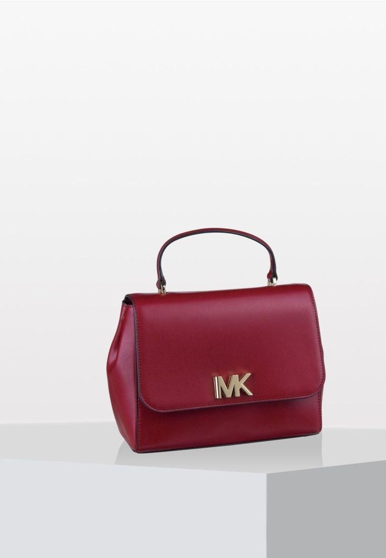 MICHAEL Michael Kors - MOTT SATCHEL - Handbag - red